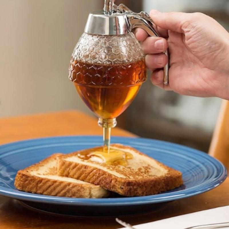 Honey Glass Dispenser