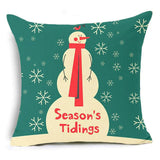Let It Snow Xmas Style Cushion Cover