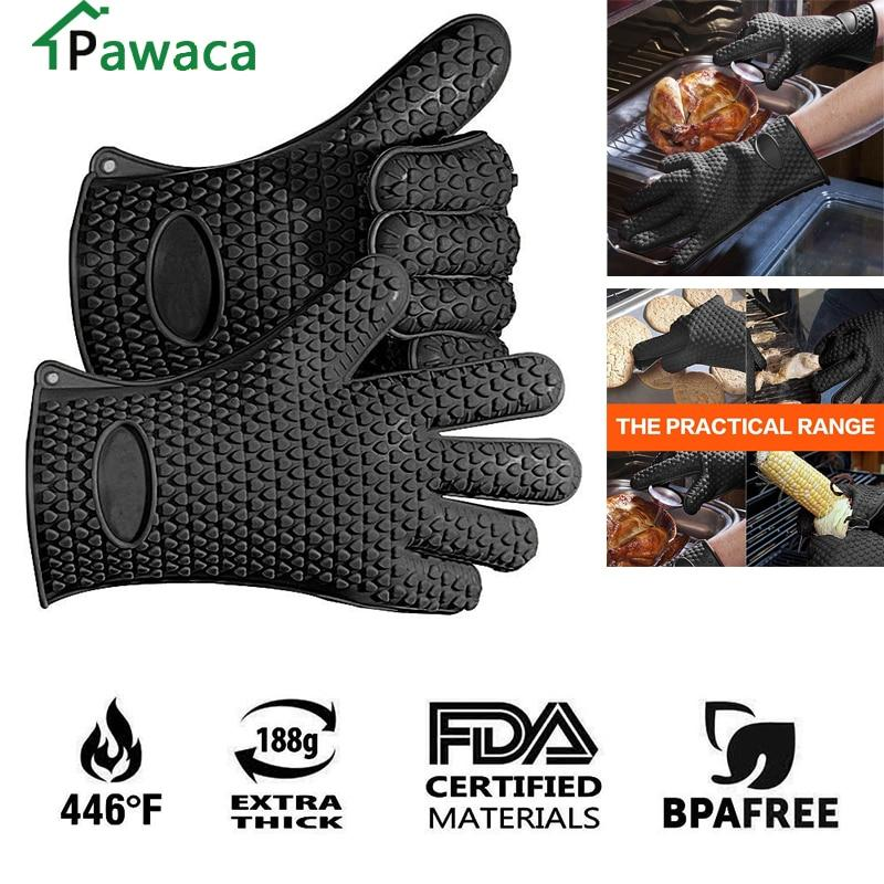 Food Grade Thick Heat Resistant Silicone Glove