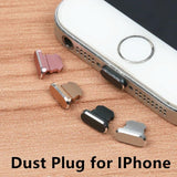 Aluminium Alloy Dust Plug Charge Port Stopple for Apple