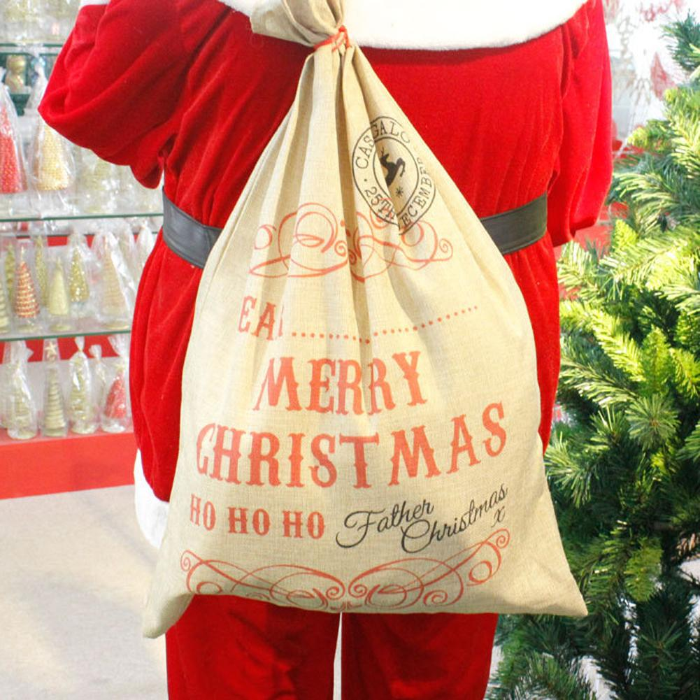 Merry Christmas Santa Stocking Bags