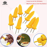 Corn Holders Skewers For BBQ