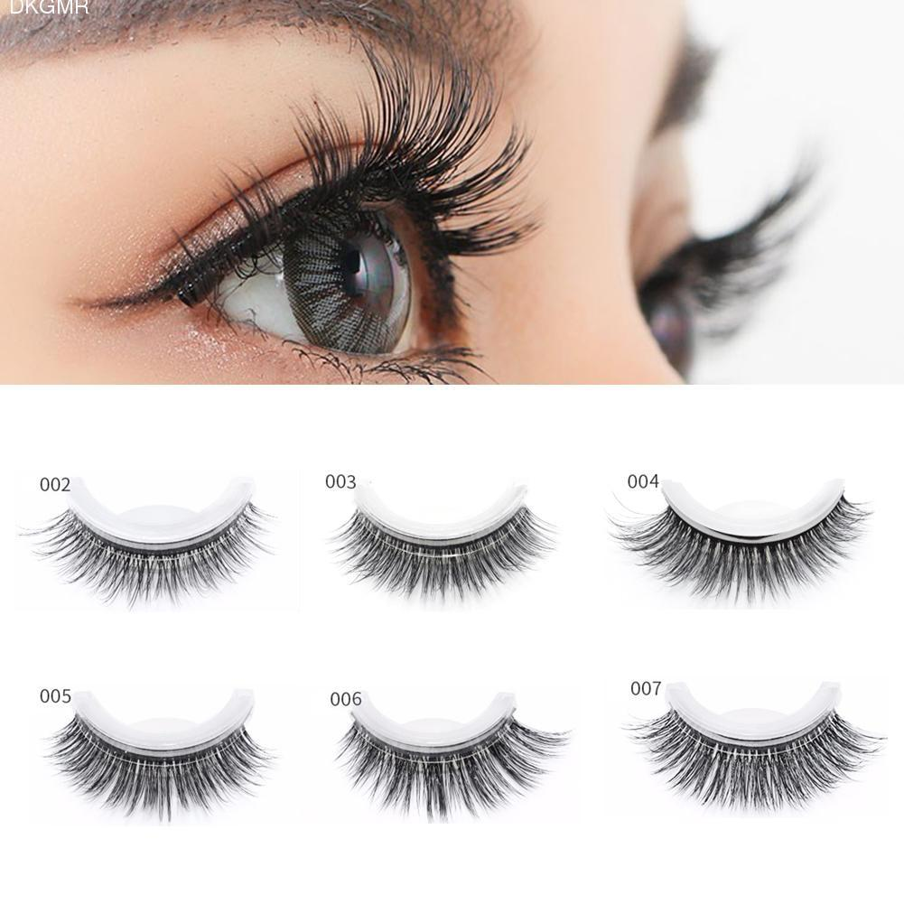 3D Mink Reusable Self-Adhesive Eyelashes