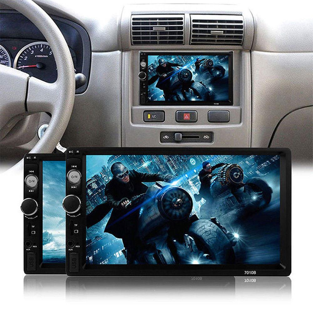 "New 7"" Touch Car Radio GPS DVD WIFI BT Player with Rear View Camera"