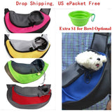 Pet Travel Carrier Shoulder Sling Bag