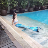 Mermaid Tail with Monofin Costume