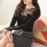 Cashmere Lace Sweater