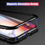Magnetic Tempered Glass Case