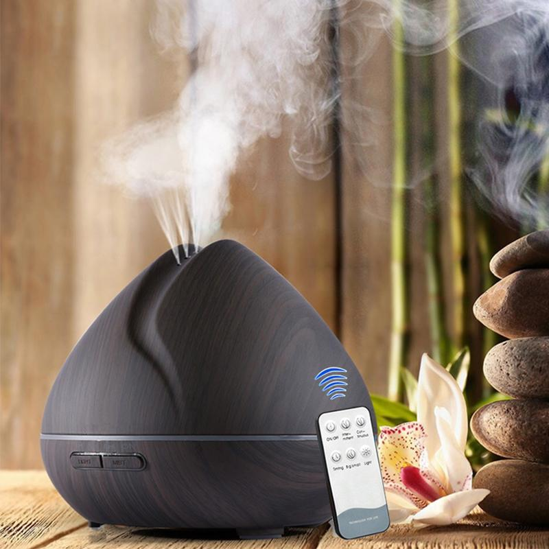 Aromatherapy Essential Oil Diffuser with LED