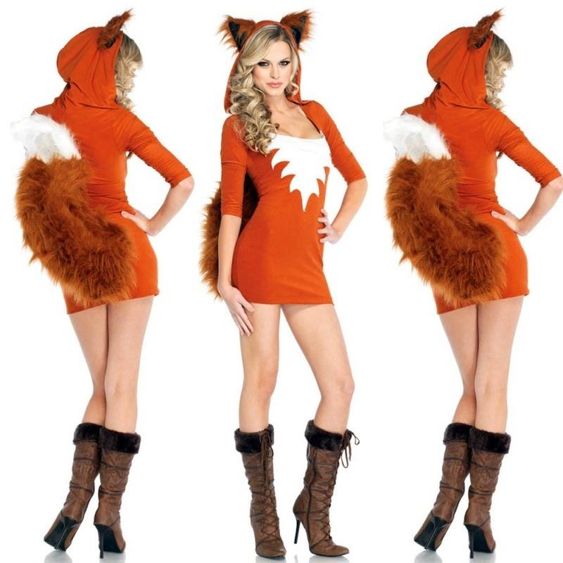 Ladies Fox Costume