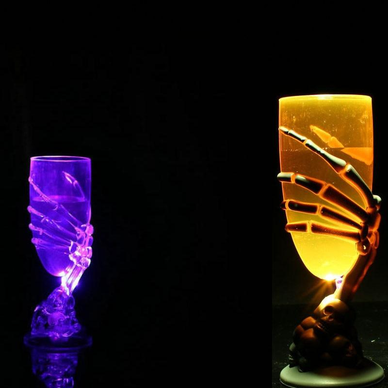 LED Glowing Claw Wine Cup