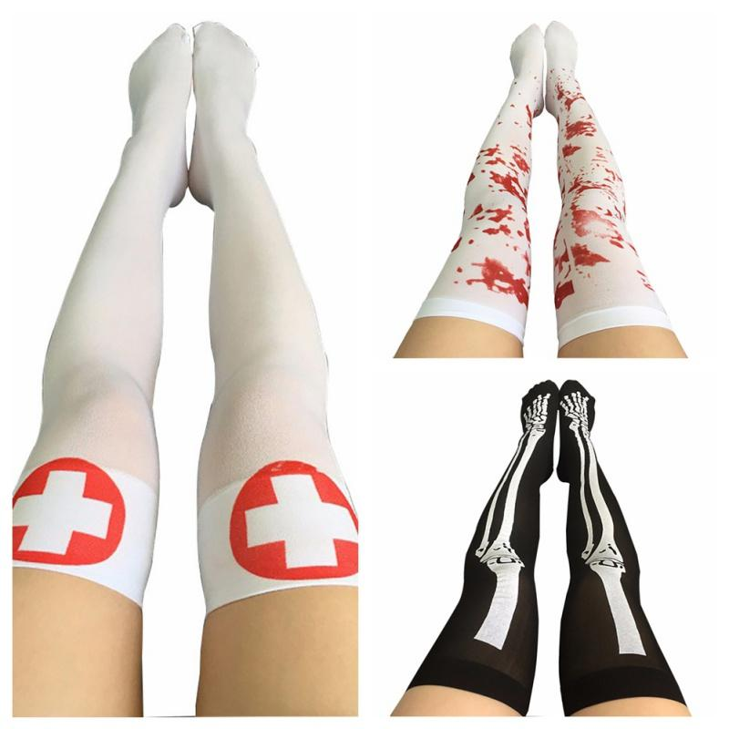 Fishnet Nurse Stockings Costume