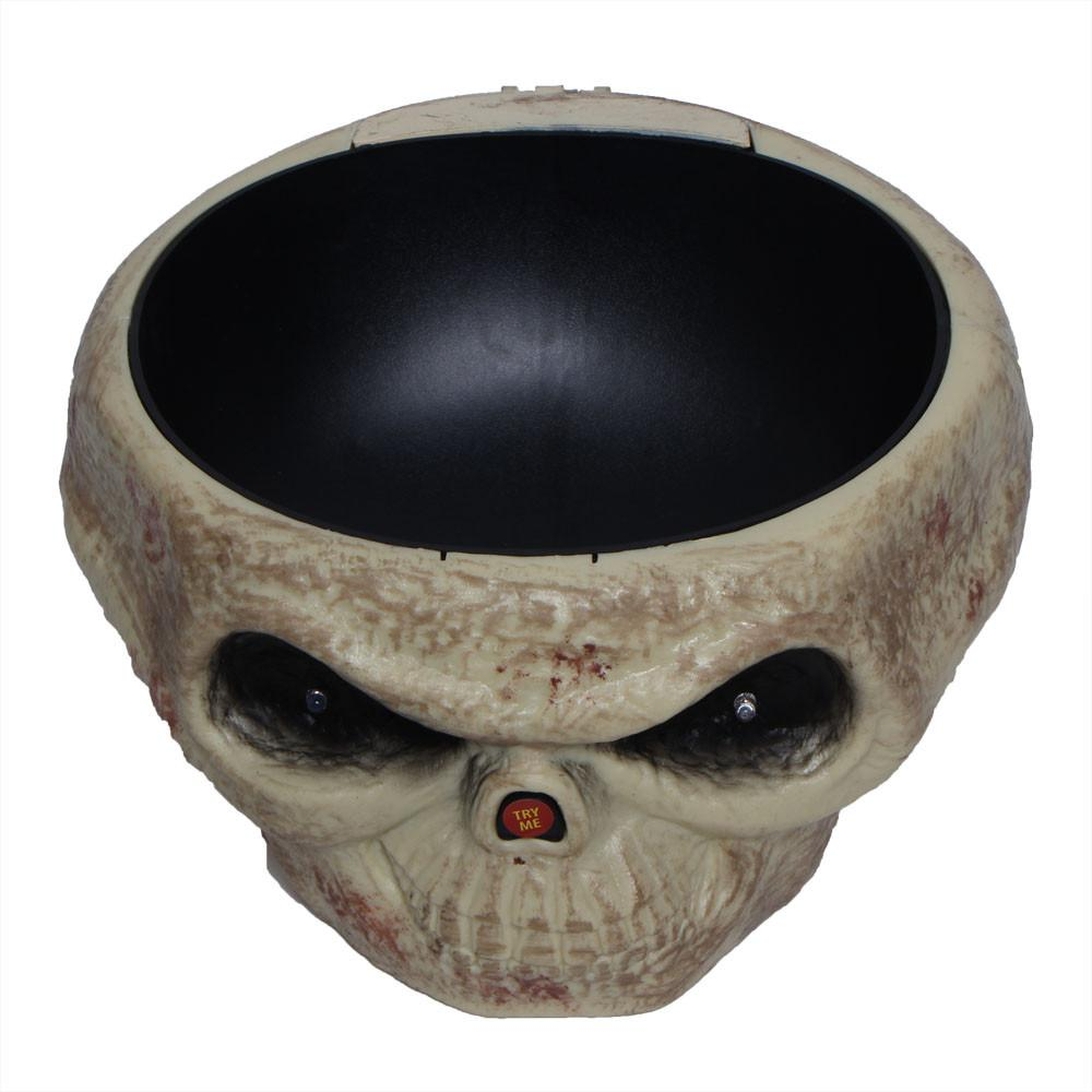 Fruit Dish with Jumping Skull Hand