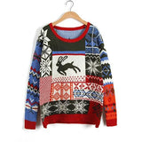 Women Pullover Ugly Christmas Sweater
