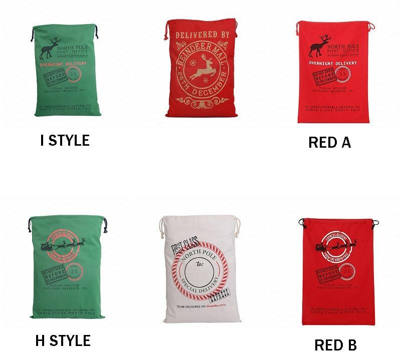 Santa Christmas Stocking Bags