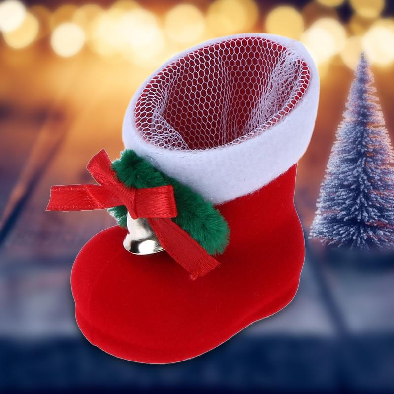 Merry Christmas Tree Decoration Candy Boots