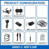 GW007-3 RC Quadrocopter Drones with Camera