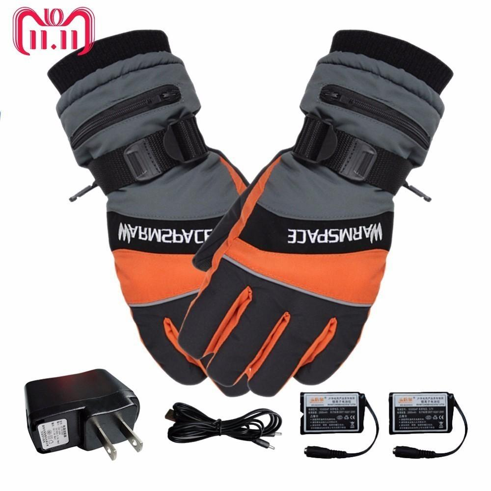 Hand Warmer Electric Thermal Gloves