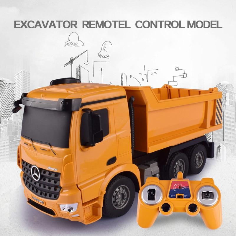 RC Engineering 2.4G Radio Remote Control Dump Truck