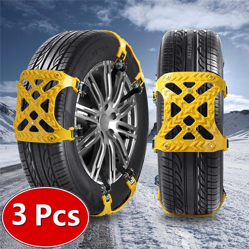 Snow Chains Universal Car Suit 165-265mm Tyre