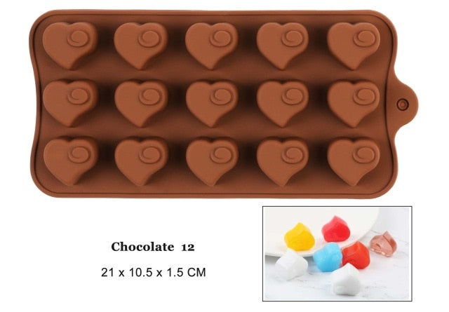 29 Shapes Chocolate baking Non-stick mold ™