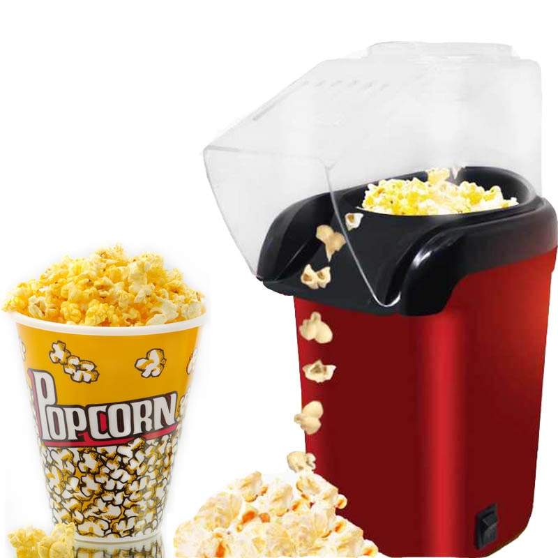 Hot Air Oil-free Popcorn Maker Machine