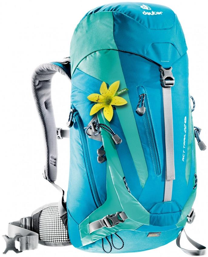 Deuter ACT Trail 22 SL (CH) Petrol-Mint - Backpackers Gallery