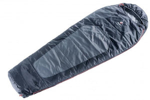 Deuter Dream Lite 500 Sleeping bag /  Titan-Black - Backpackers Gallery
