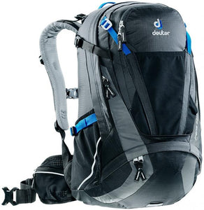 Deuter Trans Alpine 30 (CH) Black-Graphite - Backpackers Gallery backpacks bag