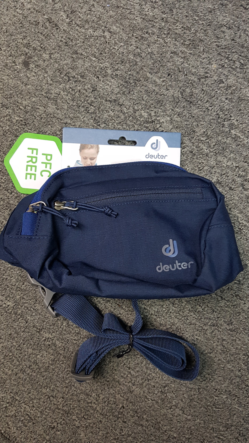 Deuter Belt 1 running pouch/ waist pouch  Midnight - Backpackers Gallery