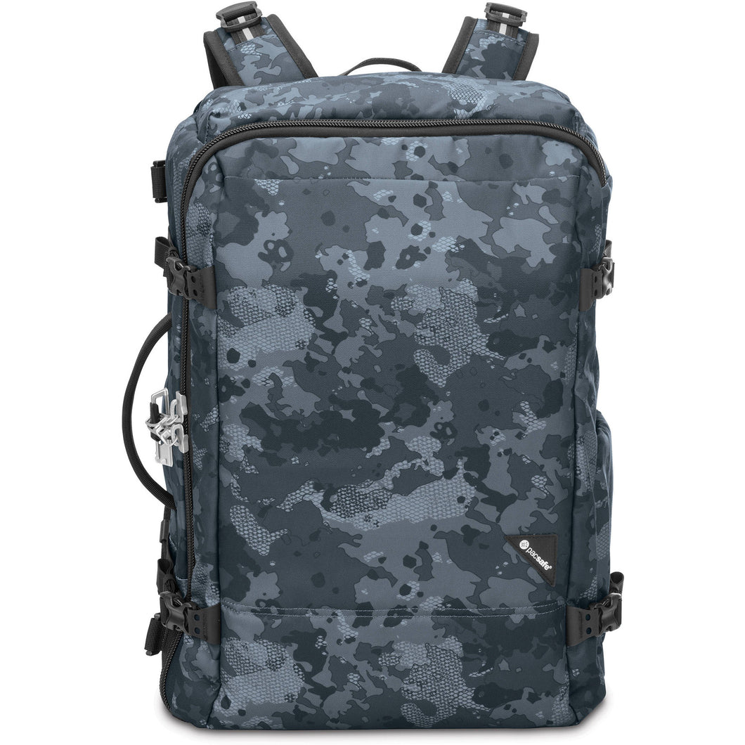 PACSAFE VIBE 40 BACKPACK (GREY CAMO) - Backpackers Gallery backpacks bag
