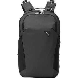 PACSAFE VIBE 20 BACKPACK (BLACK) - Backpackers Gallery backpacks bag