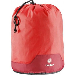 Deuter Pack Sack L Fire-Cranberry - Backpackers Gallery backpacks bag