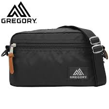 Gregory Padded Shoulder Pouch M Black - Backpackers Gallery backpacks bag