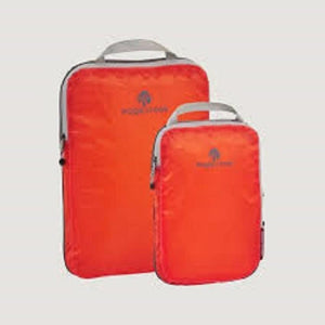 Eagle Creek Compression Cube  Set Flame Orange - Backpackers Gallery backpacks bag