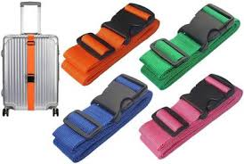 Design Go Travel sentry strap Blue - Backpackers Gallery