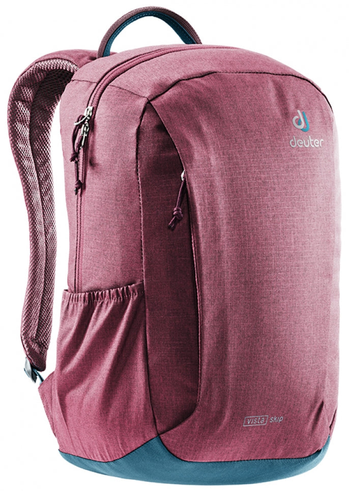 Deuter Daypack Vista Skip (2019) Maroon-Arctic - Backpackers Gallery backpacks bag