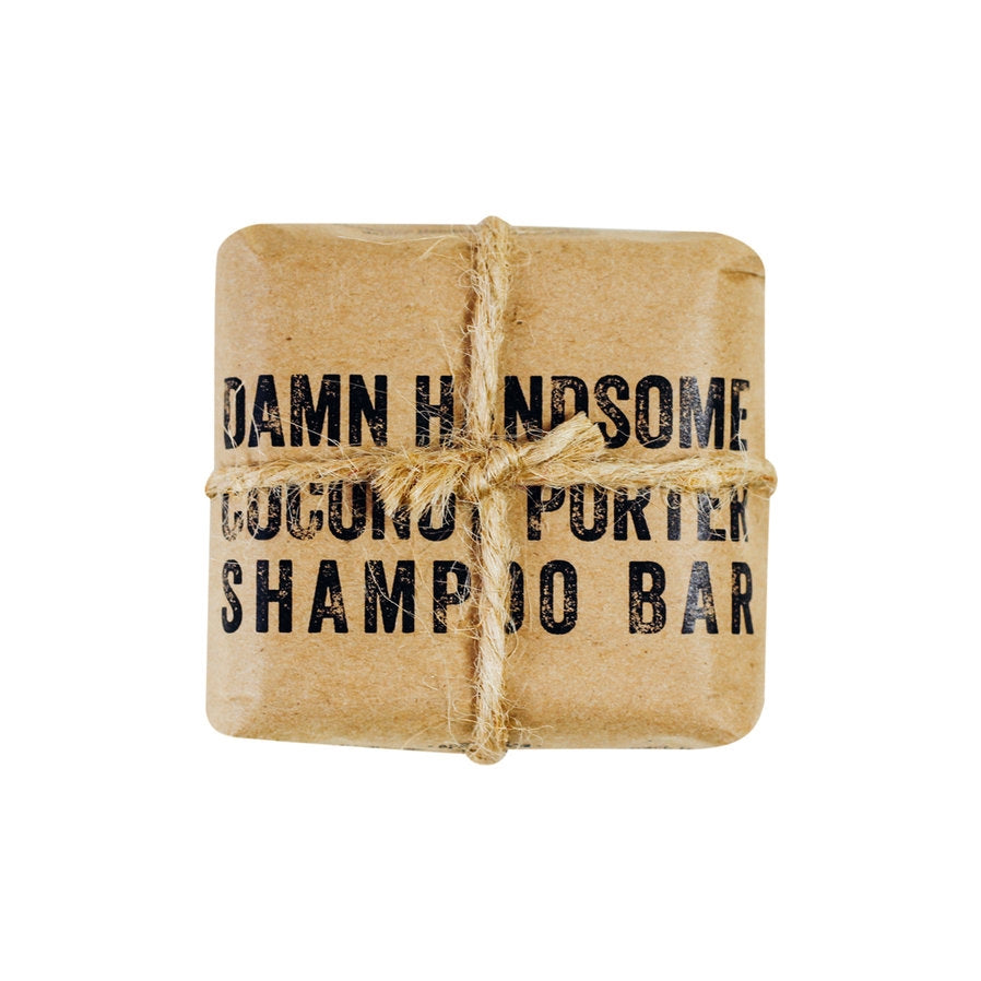 Damn Handsome Coconut Porter Shampoo and Body Bar