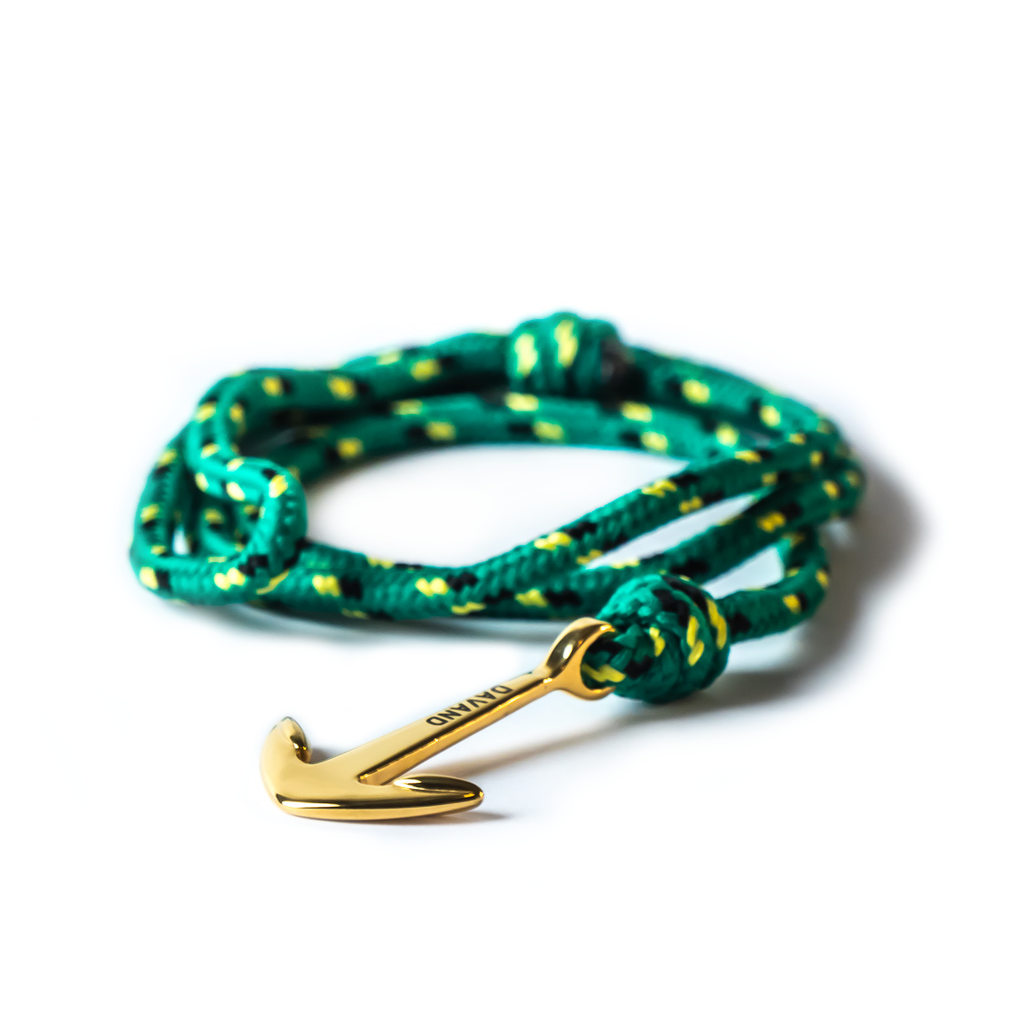 Armbånd, Alligator green