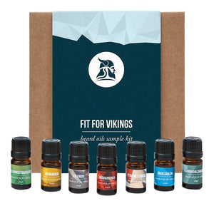 Beard Care Sample Kit, Beard Oils