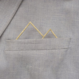 Pocket Square No Mountain (messing)