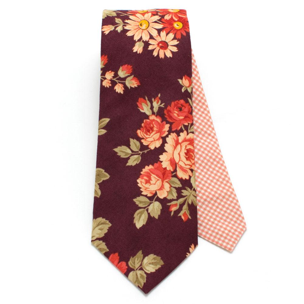 Slips, Vintage Briarcliff Floral & Micro Check