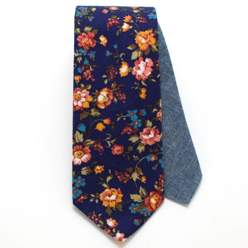 Slips, Vintage English Rose Necktie