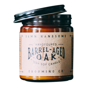 Damn Handsome Barrel Aged Oak Candle