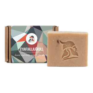 Beard and Body Beer Soap, 50gr, Eyjafjallajökull