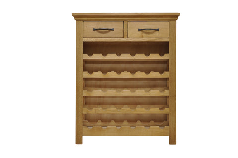 Telford Wine Rack with drawers
