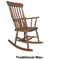 Beech Slat Back Rocking Chair - The Rocking Chair