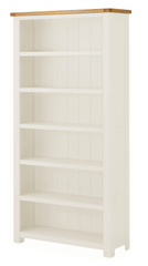 Portland Oak Tall Wide Bookcase - The Rocking Chair