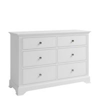French Elegance 6 Drawer Chest of Drawers