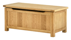 Portland Oak Blanket Box - The Rocking Chair